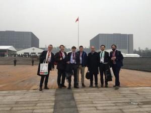 Nella foto la delegazione della Scuola Superiore Sant_Anna a Chongqing -
